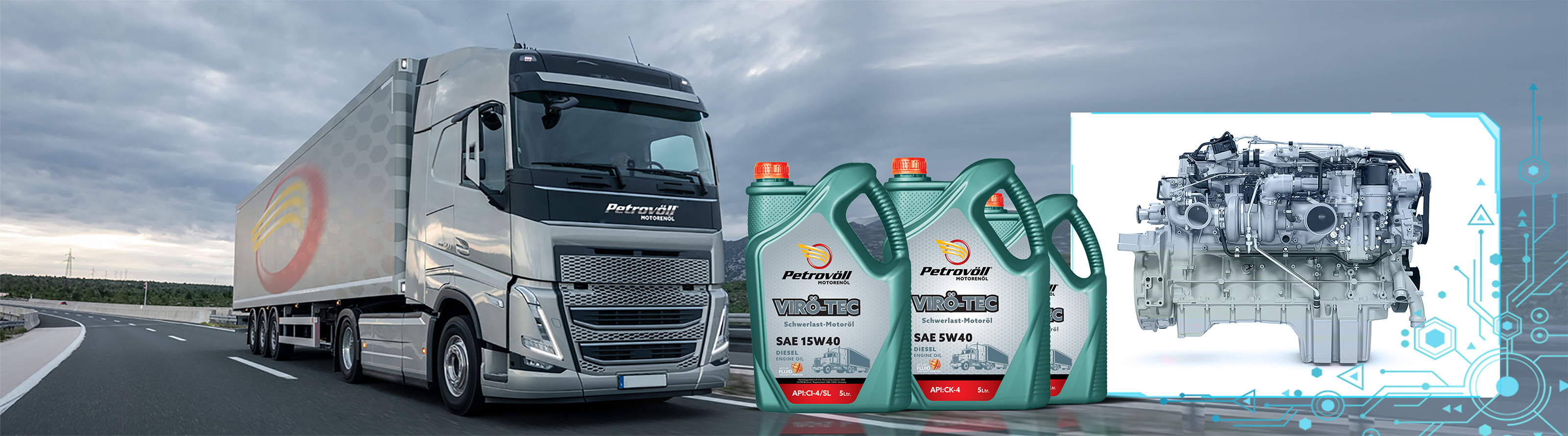 Petrovoll Diesel Engine Oils
