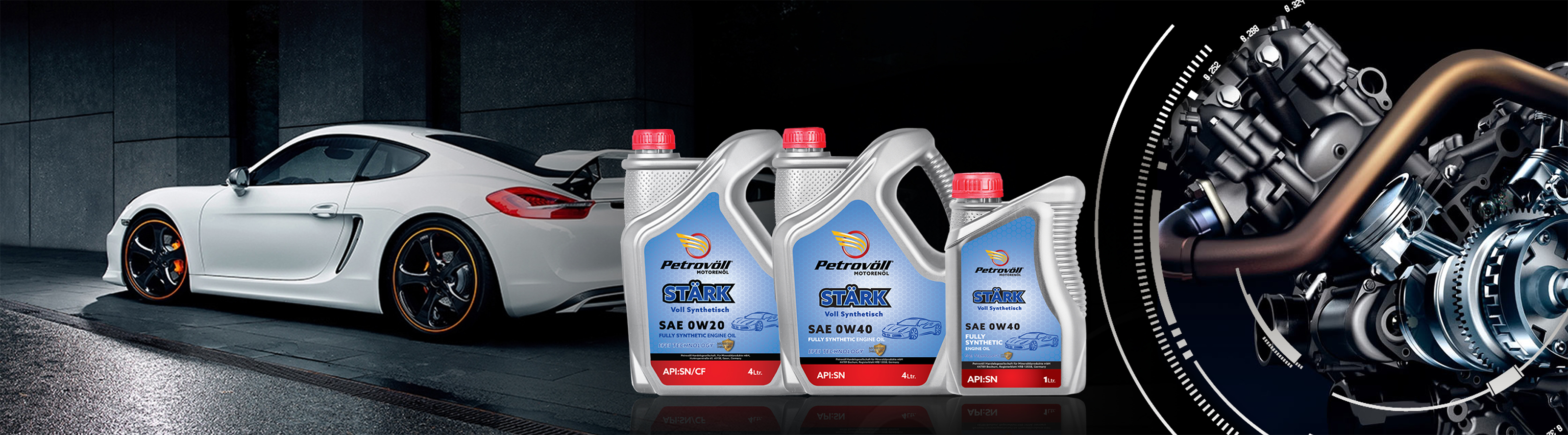 Petrovoll Gasoline Engine OilsPetrovoll Gasoline Engine Oils