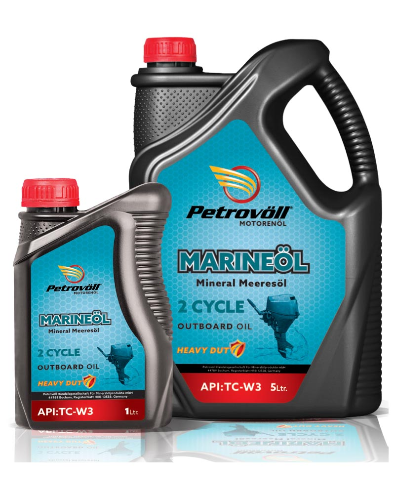 MARINEÖL 2-STROKE OUTBOARD OIL, WATER COOLED